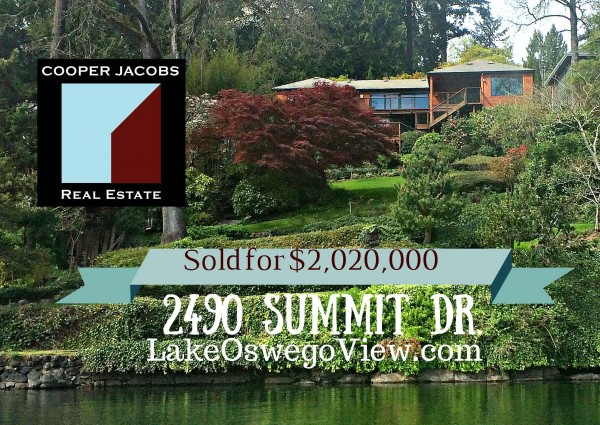 Lake Oswego waterfront homes Realtors